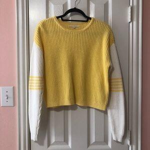 LA Hearts Color-blocked Knit Sweater